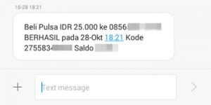 Transaksi Beli Pulsa Berhasil, BTPN Wow!