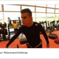 Aksi Pemain Juventus Melakukan Mannequin Challenge
