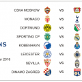 Jadwal Pertandingan Liga Champions 2016 Matchday 5