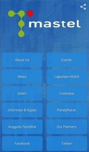 Tampilan Aplikasi Mobile MASTEL