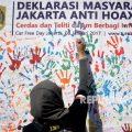 Deklarasi Masyarakat Anti Hoax 8 Januari 2017
