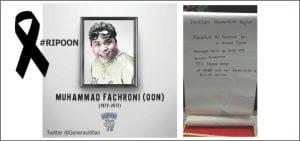 Berduka Meninggalnya Oon Project Pop Alumni SMPN 3 Bandung