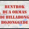 Ada Bentrokan Dua Ormas di Billabong Bojonggede