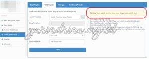 Gunakan menu Setor/Tarik Rupiah di Website Bitcoin Indonesia