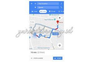 Cara Pakai Fitur Sepeda Motor di Google Maps