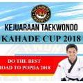 Kejuaraan Taekwondo Kahade Cup 2018 Kota Bogor