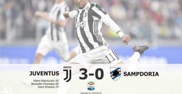 Bianconeri taklukkan Sampdoria tiga gol tanpa balas