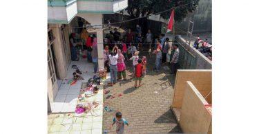 Kegiatan Agustusan di Masjid Nurrohmah Kincir Pondok Manggis