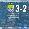Maung Bandung Terkam Macan Kemayoran 3-2