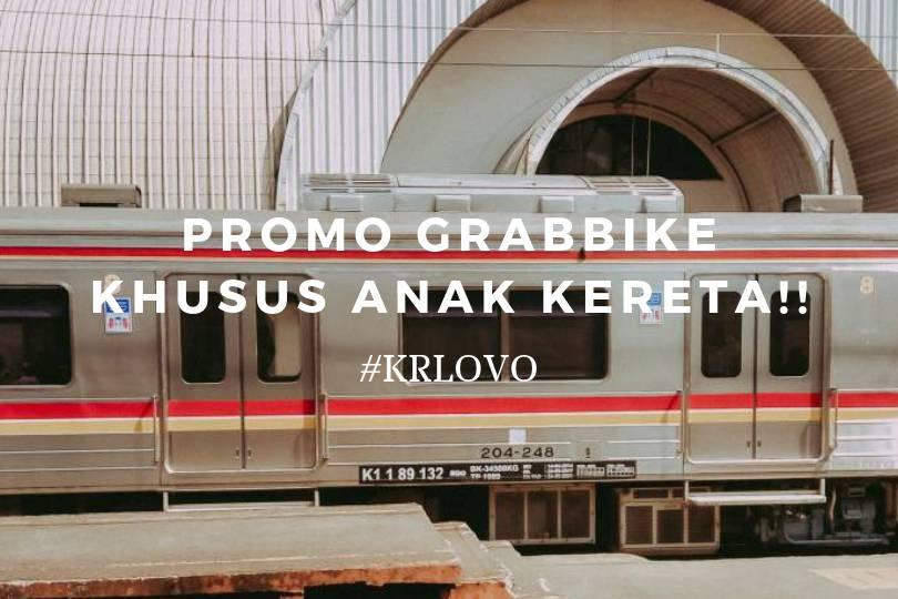 Cara Pakai Promo Grab Khusus Anak Kereta (KRLOVO)