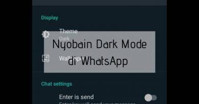 Cara Cepat Aktifkan Dark Mode WhatsApp
