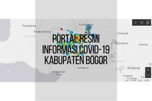 Portal Resmi Informsi COVID-19 Kabupaten Bogor