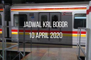 Jadwal KRL Bogor 10 April 2020