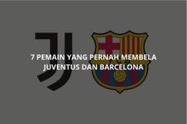 7 pemain yang pernah membela Juventus dan Barcelona