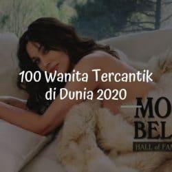 100 Wanita Tercantik 2020 (Nomor 5 dari Indonesia)