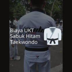 Biaya UKT Sabuk Hitam Taekwondo