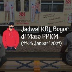 Jadwal KRL Bogor di Masa PPKM (11-25 Januari 2021)