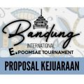 Proposal Bandung International E-Poomsae Tournament 2021